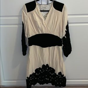 Temperley London midi dress - size 10 US